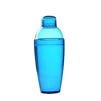 Quenchers Disposable 10 oz. Neon Cocktail Shaker Color: Blue 4102-BL