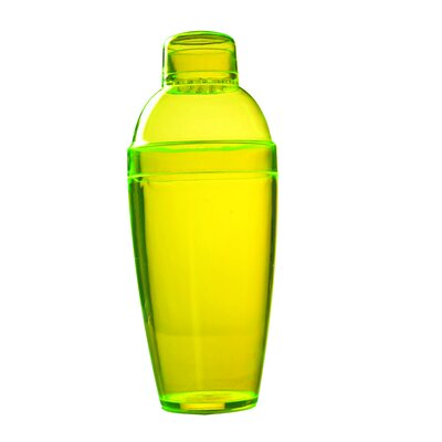 Quenchers Disposable 10 oz. Neon Cocktail Shaker Color: Yellow 4102-Y