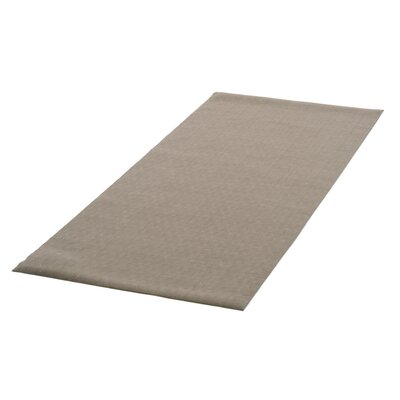 Indoor/Outdoor PVC Runner Utility Mat Color: Brown