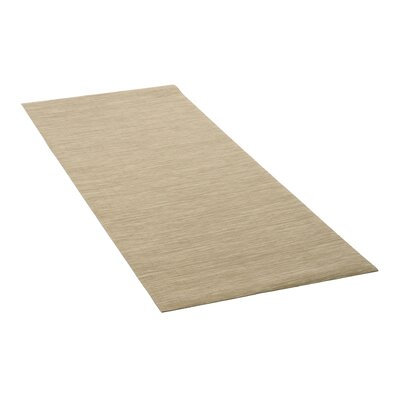 Indoor/Outdoor PVC Runner Utility Mat Color: Beige