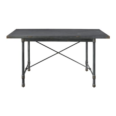 Bendigo Industrial Metal Top Dining Table