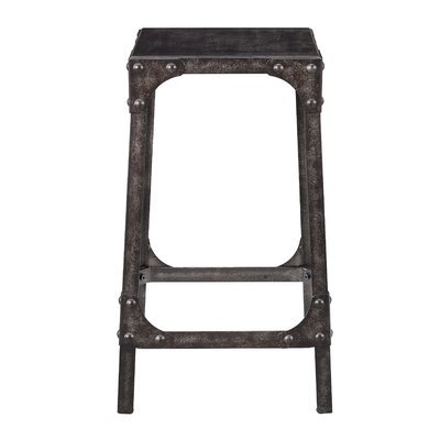 Dasia Industrial Gathering 24.25 Bar Stool (Set of 2)