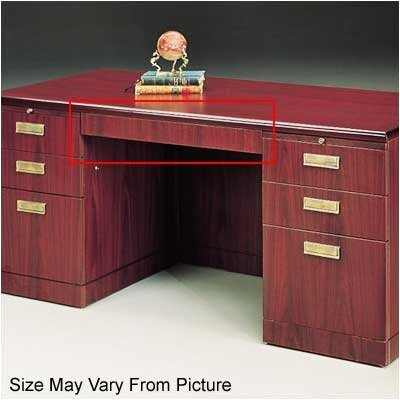 Vitality 32 W x 19 D Desk Drawer Finish: Mahogany