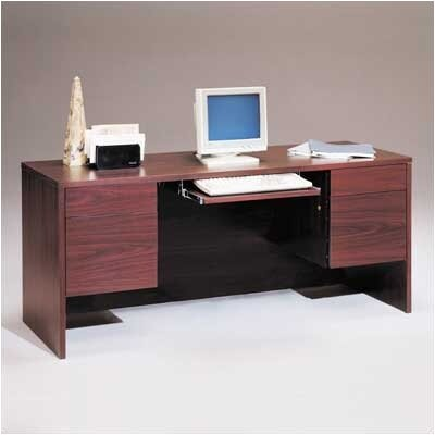 "High Point Furniture Bravo Panel 66"" W Computer Credenza with Drawers - Finish: Grey at Sears.com"