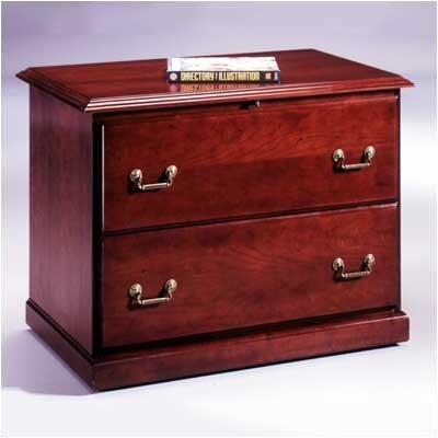Legacy 2-Drawer Executive File Top: Wood Veneer Top Without Molding Product Image 273