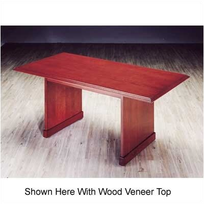 Legacy 6' Rectangular Conference Table Top: High Pressure Laminate Top with Molding Product Picture 747