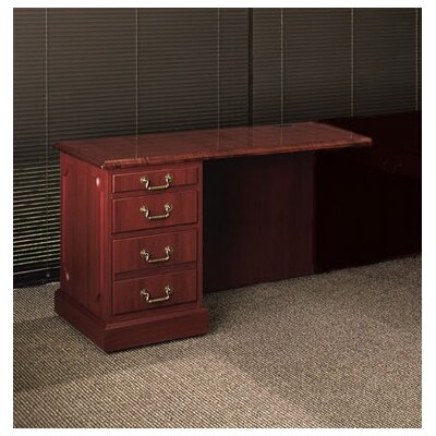 Bedford 36 W Desk Height Return Pedestal: Right, Finish: Mahogany Product Image 4826