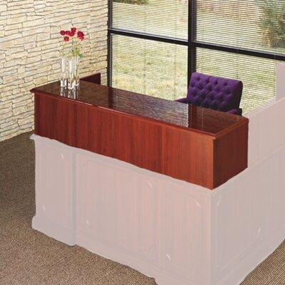 Bedford 14 H x 66 W Desk Privacy Panel Finish: Mahogany