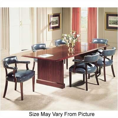 Bedford Rectangular Conference Table Size: 8 L