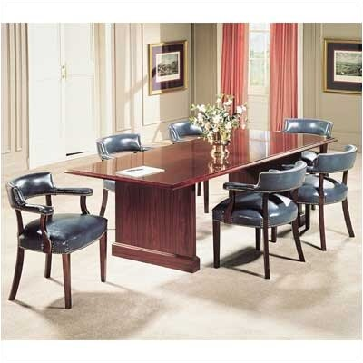 Bedford Rectangular Conference Table Size: 6 L