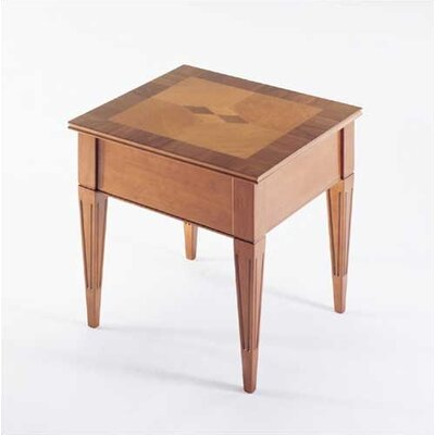 Marquet End Table Color: Honey