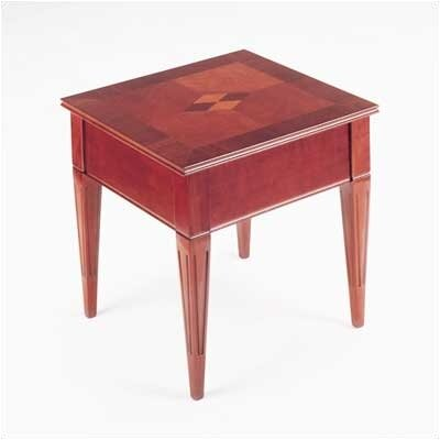 Marquet End Table Color: Mahogany