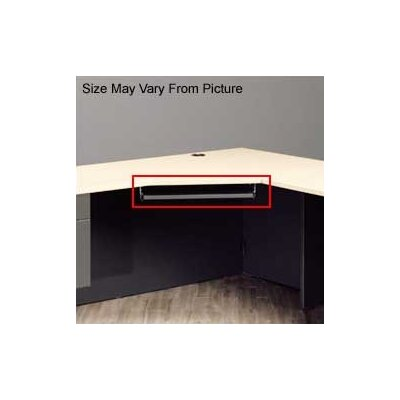 "High Point Furniture 29"" W Pull-out Keyboard Platform Compatible with Atlas and Hyperwork Desks - Finish: Natural Maple at Sears.com"