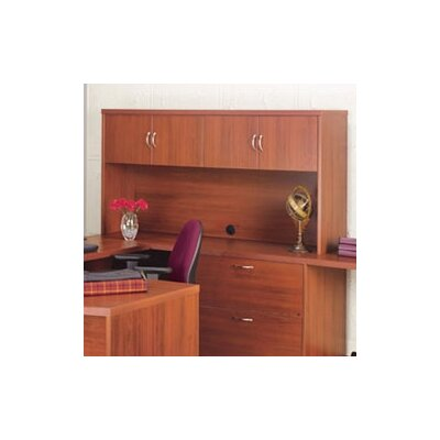 Atlas 37 H x 72 W Desk Hutch Finish: Natural Maple