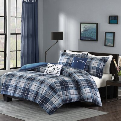 Camilo 4 Piece Comforter Set Size: Twin XL