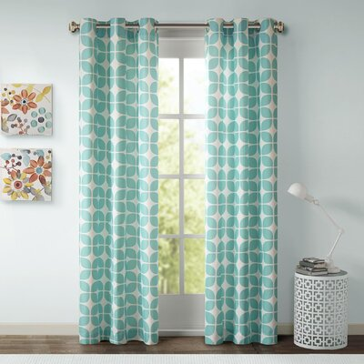 Intelligent Design Lita Curtain Panel (Set of 2) - Size: 84