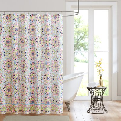 Zoe Printed Shower Curtain