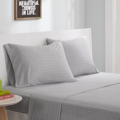Jersey Knit Sheet Set Size: Queen