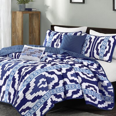 Nokomis 4 Piece Coverlet Set Size: Full / Queen