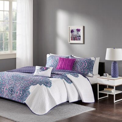 Deeanna Coverlet Set Size: Twin/Twin XL