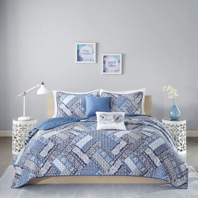 Raleigh Coverlet Set Size: Full/Queen