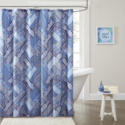 Raleigh Printed Shower Curtain