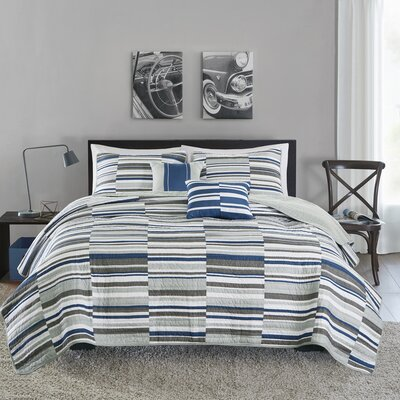 Emmett Coverlet Set Size: Twin/Twin XL