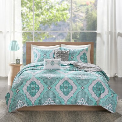 Claudine Reversible Coverlet Set Size: Twin/Twin XL