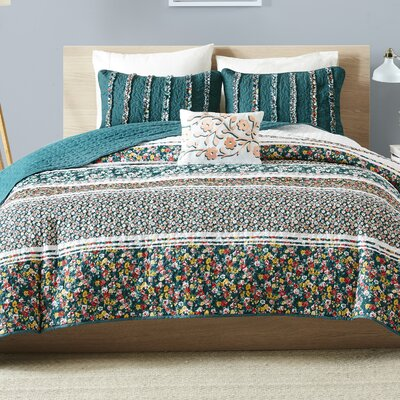 Fleur Coverlet Set Size: Full/Queen