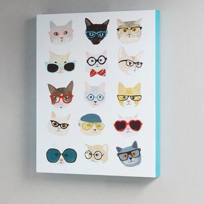 'Hip Cat' Graphic Art Print
