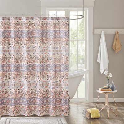 Claudine Printed Shower Curtain