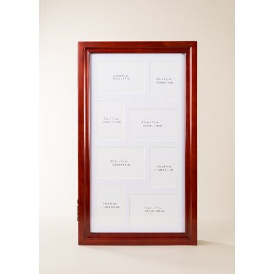 Hives & Honey Jewelry Collage Frame Wall Mounted Jewelry Holder - Finish: Antique Cherry at Sears.com