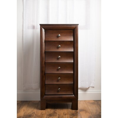Penney Jewelry Armoire with Mirror