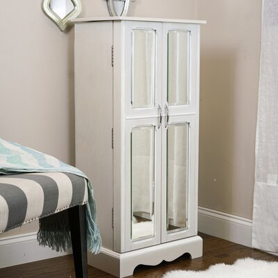 Bayliff Jewelry Armoire with Mirror