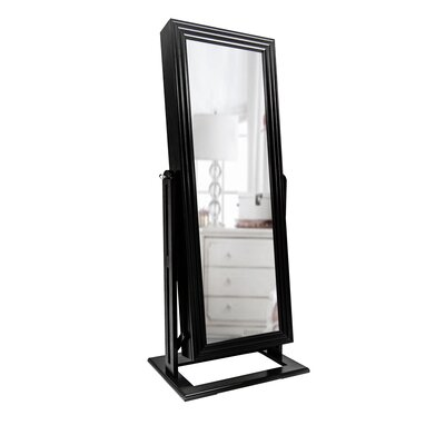 Anna Jewelry Armoire Finish: Espresso