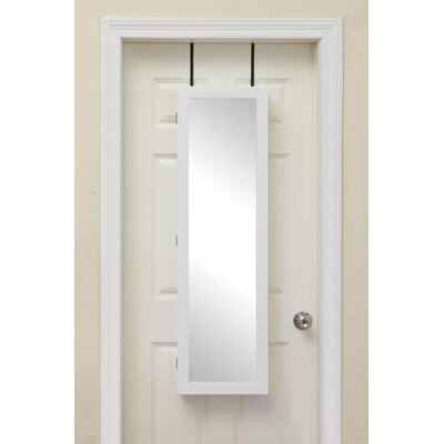 Miley Over the Door Jewelry Armoire with Mirror