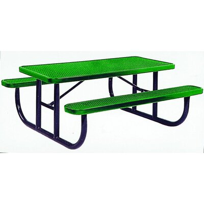 Rectangular Picnic Table Size: 96