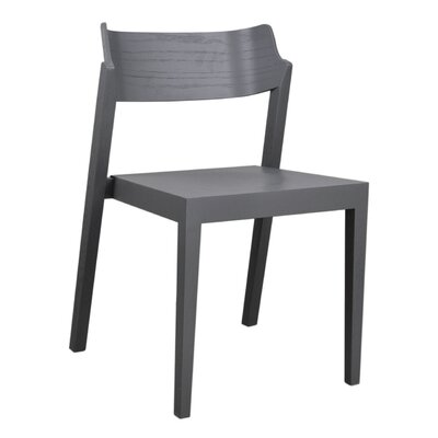 RH Solid Wood Dining Chair Color: Gray