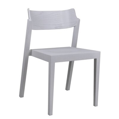RH Solid Wood Dining Chair Color: White