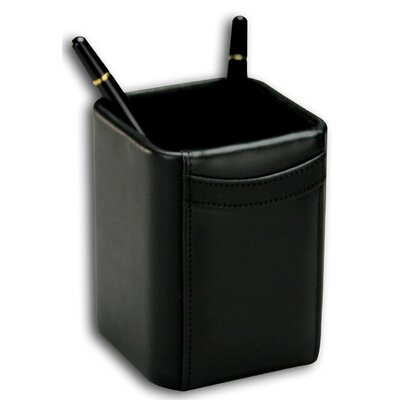 1000 Series Classic Leather Pencil Cup in Black A1010