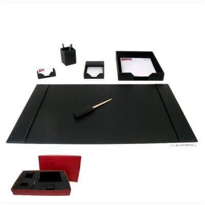 1400 Series Econo-Line 6 Piece Desk Set D1401