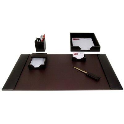 1400 Series Econo-Line Leather 6 Piece Desk Set D3601
