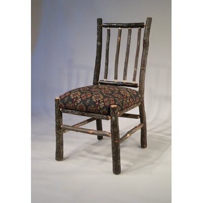 Berea Rail Back Side Chair Upholstery: Ponderosa