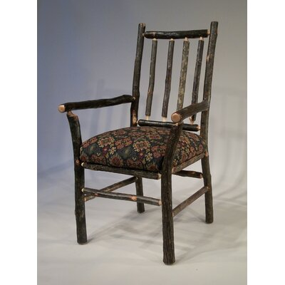 Berea Rail Back Arm Chair Upholstery: Ponderosa
