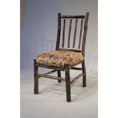 Berea Rail Back Side Chair Upholstery: Apache