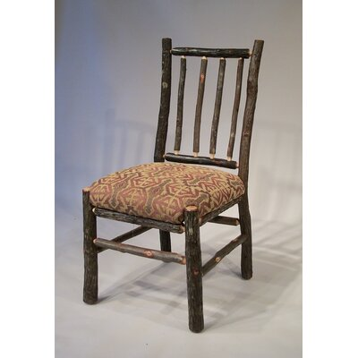 Berea Rail Back Side Chair Upholstery: Cranston
