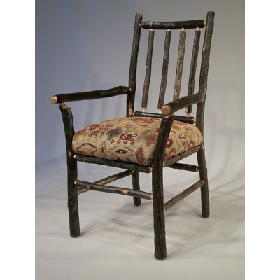 Berea Rail Back Arm Chair Upholstery: Apache