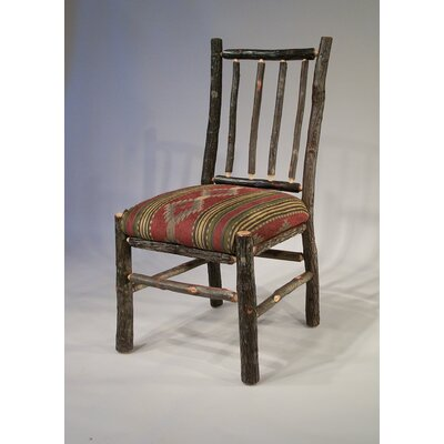 Berea Rail Back Side Chair Upholstery: Stripe