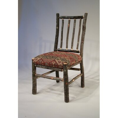 Berea Rail Back Side Chair Upholstery: Braymar