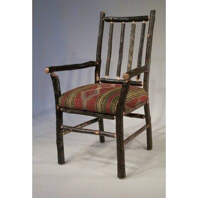 Berea Rail Back Arm Chair Upholstery: Navaho Stripe